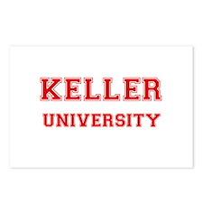 KELLER UNIVERSITY Postcards (Package of 8)