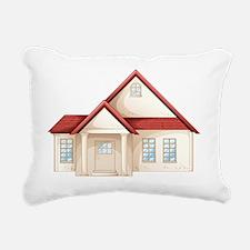 House Rectangular Canvas Pillow
