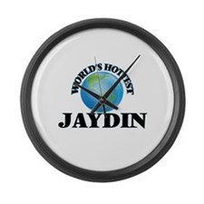 World's Hottest Jaydin Large Wall Clock
