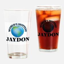 World's Hottest Jaydon Drinking Glass