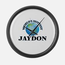 World's Hottest Jaydon Large Wall Clock