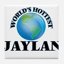 World's Hottest Jaylan Tile Coaster