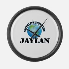 World's Hottest Jaylan Large Wall Clock
