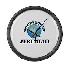 World's Hottest Jeremiah Large Wall Clock