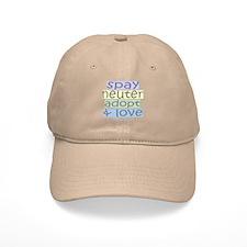 Spay/Neuter/Adopt/Love Baseball Cap