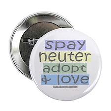 Spay/Neuter/Adopt/Love Button