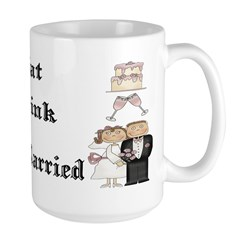 Eat, Drink, Be Married Mug
