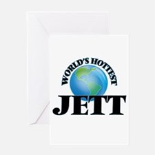 World's Hottest Jett Greeting Cards