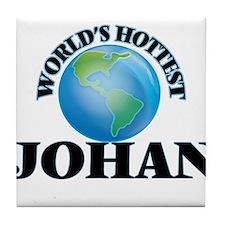 World's Hottest Johan Tile Coaster