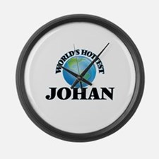 World's Hottest Johan Large Wall Clock