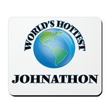World's Hottest Johnathon Mousepad