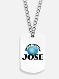 World's Hottest Jose Dog Tags