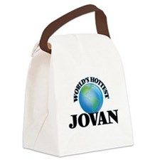 World's Hottest Jovan Canvas Lunch Bag