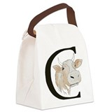 Animals cow Canvas Lunch Bag