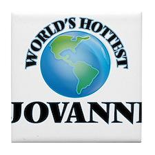 World's Hottest Jovanni Tile Coaster