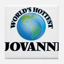 World's Hottest Jovanni Tile Coaster
