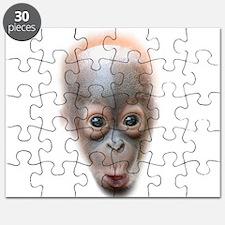 Funny Baby Orangutan Face Puzzle