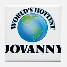 World's Hottest Jovanny Tile Coaster