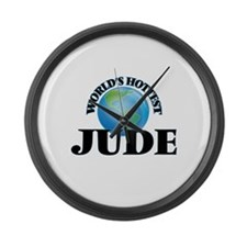 World's Hottest Jude Large Wall Clock