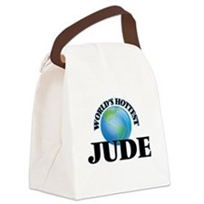 World's Hottest Jude Canvas Lunch Bag
