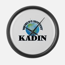 World's Hottest Kadin Large Wall Clock