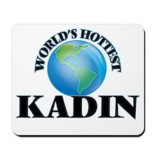 World's Hottest Kadin Mousepad