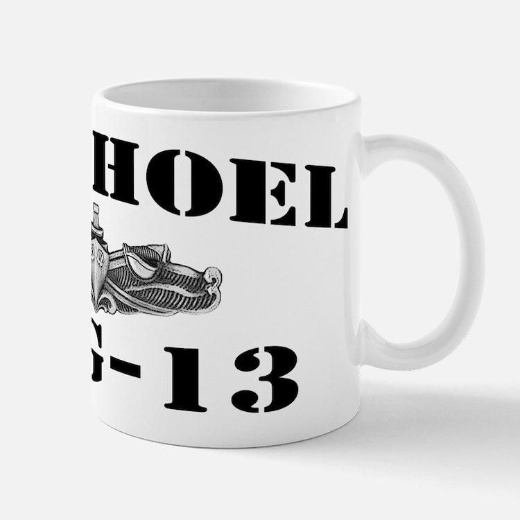 USS HOEL Mug