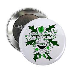 Green Man Button
