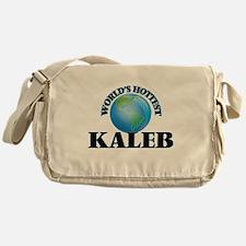 World's Hottest Kaleb Messenger Bag