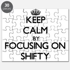 Keep Calm by focusing on Shifty Puzzle