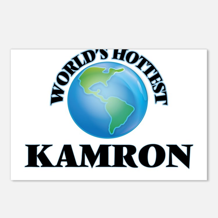 World's Hottest Kamron Postcards (Package of 8)