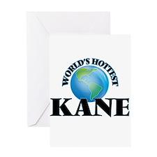 World's Hottest Kane Greeting Cards