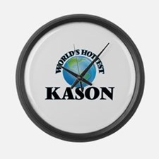 World's Hottest Kason Large Wall Clock