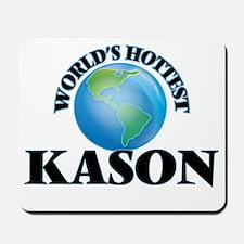 World's Hottest Kason Mousepad