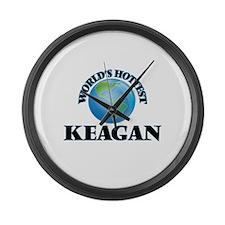 World's Hottest Keagan Large Wall Clock