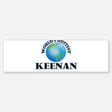 World's Hottest Keenan Bumper Bumper Bumper Sticker