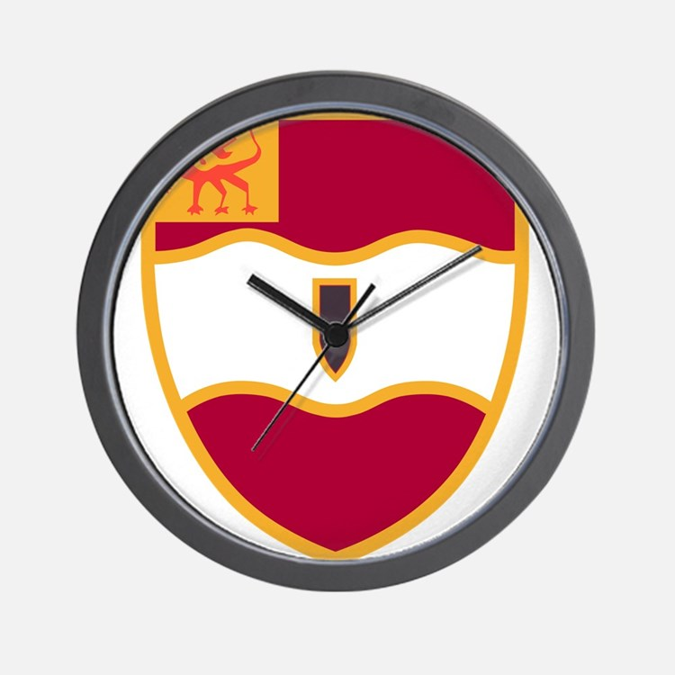 82nd Field Artillery Battalion Military Wall Clock