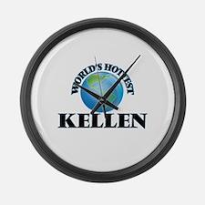 World's Hottest Kellen Large Wall Clock