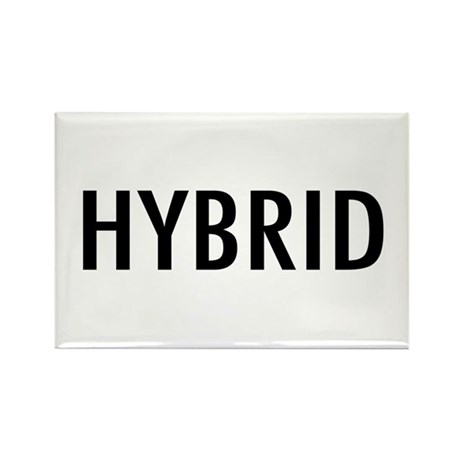 "Pet Word ""Hybrid"" Rectangle Magnet"