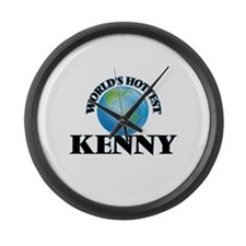 World's Hottest Kenny Large Wall Clock
