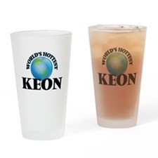 World's Hottest Keon Drinking Glass