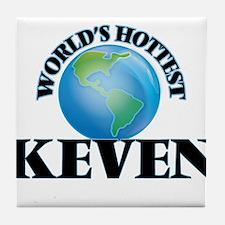 World's Hottest Keven Tile Coaster