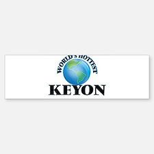 World's Hottest Keyon Bumper Car Car Sticker