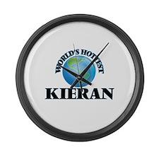 World's Hottest Kieran Large Wall Clock