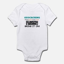 Bring it On! white Infant Bodysuit