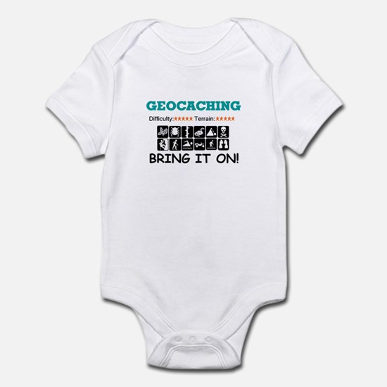 Bring it On! white Infant Bodysuit