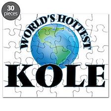 World's Hottest Kole Puzzle