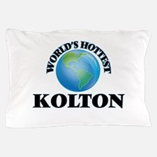 World's Hottest Kolton Pillow Case