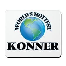 World's Hottest Konner Mousepad