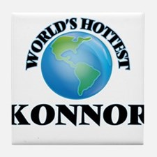 World's Hottest Konnor Tile Coaster